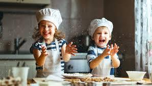 La cucina..una palestra per i bambini!